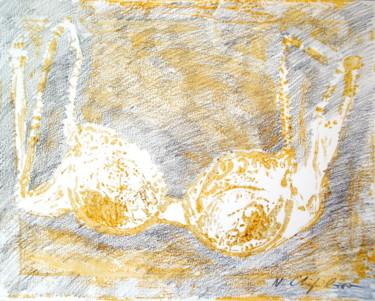 Soutien blanc or