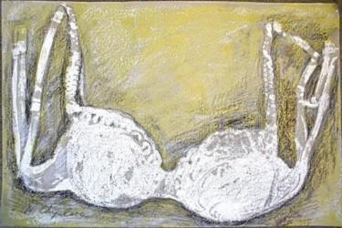 White bra on gold