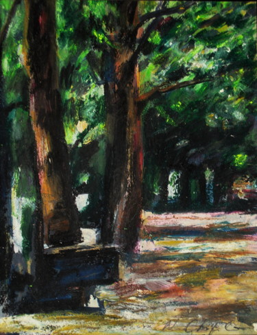 In the park 1, 32x24cm