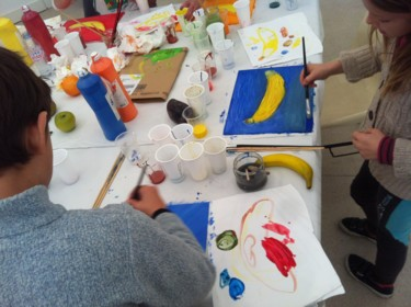 Vous voulez suivre des cours de dessin et peinture chez moi? Suivez le lien!